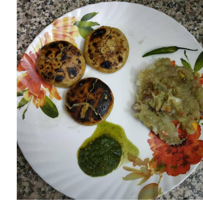 Awadhi Bati Chokha or Bihari Litti Chokha