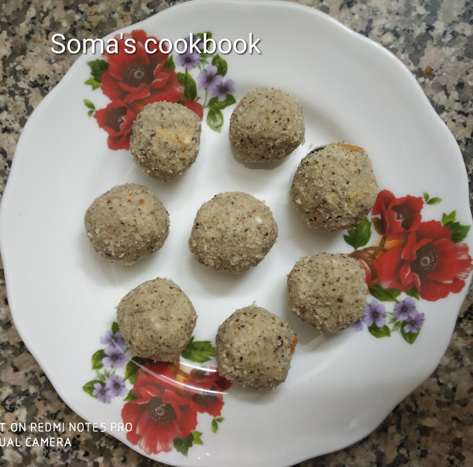 Badam Nariyal Laddoo