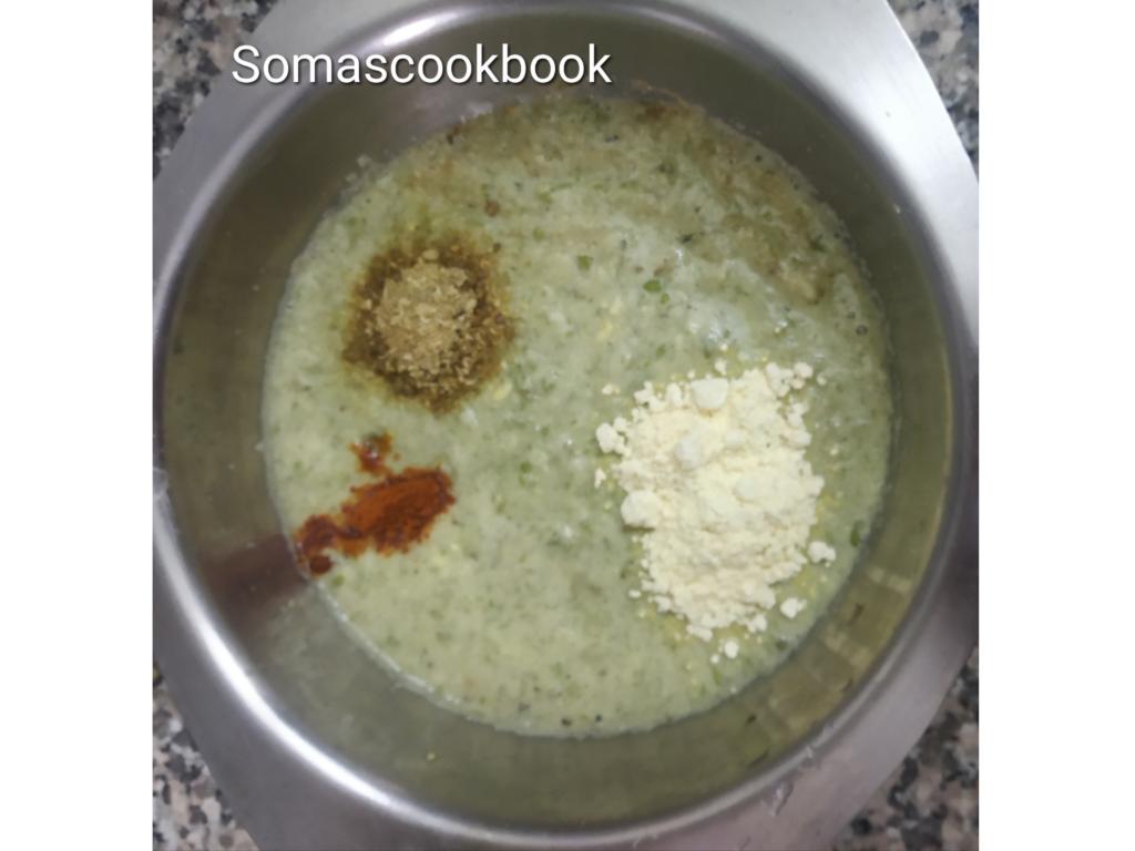 Cheela Paste mixture